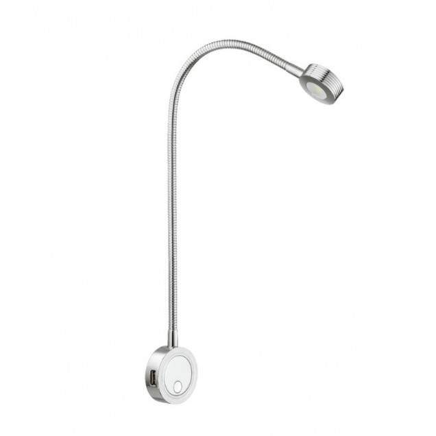 Hafele Loox Flexibele Lamp LED incl. USB aanlsuiting